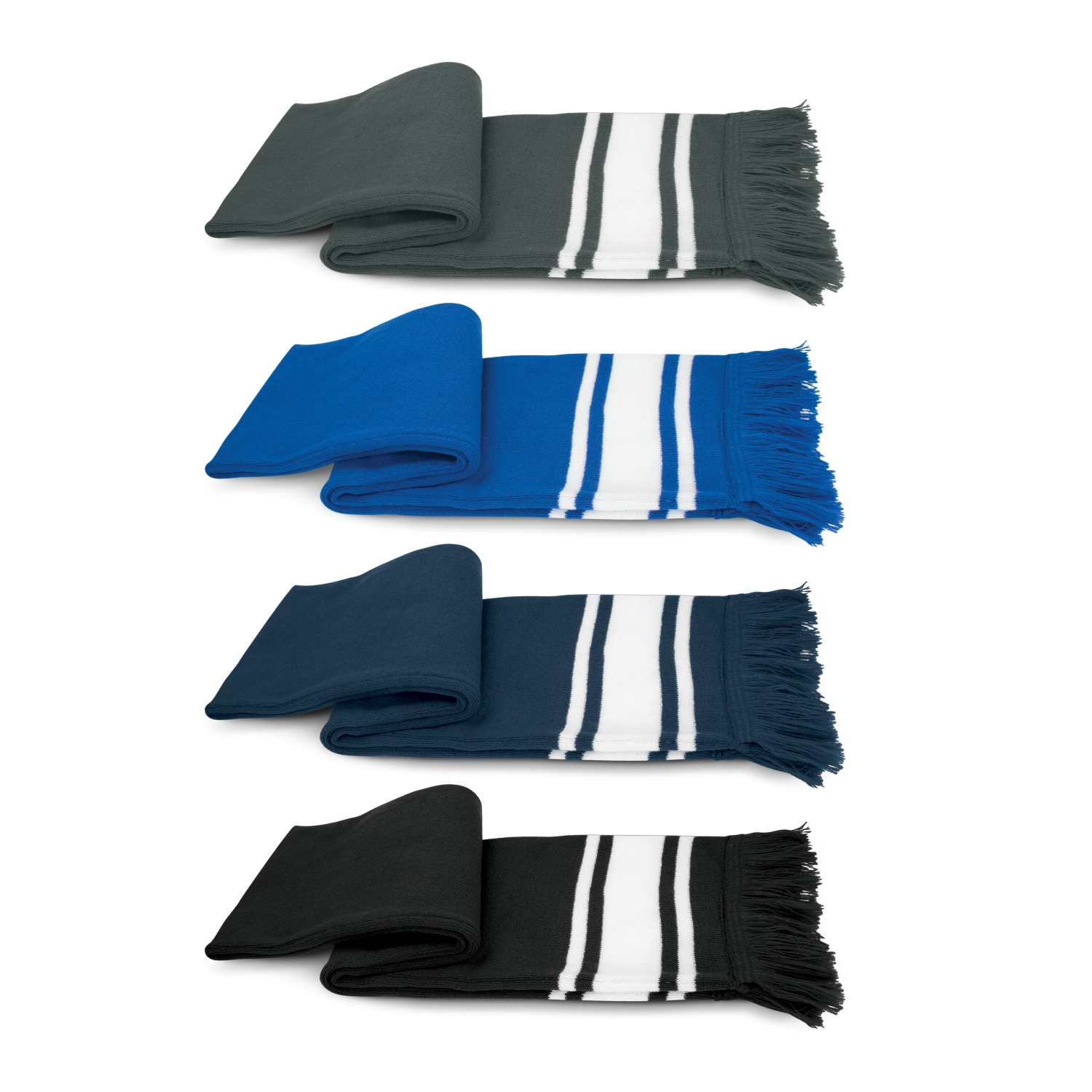 Scarf - Knitted Stripe