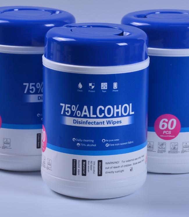 Wet Wipe - 75% Alcohol (60PK)