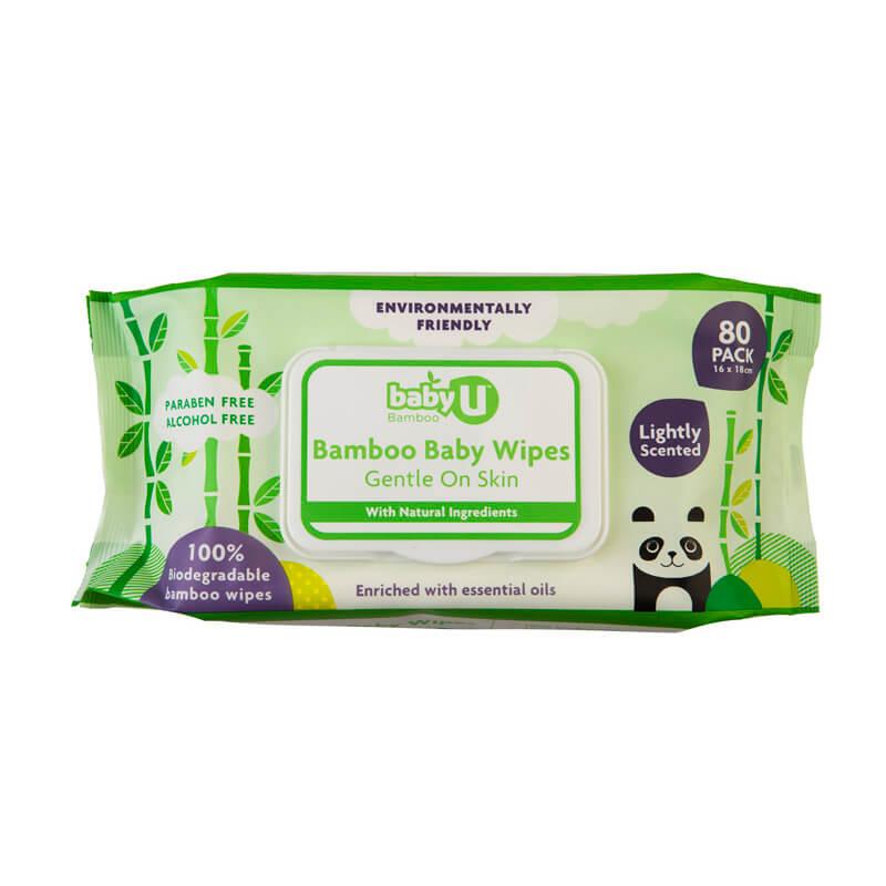 Wet Wipes - Bamboo Antibacterial