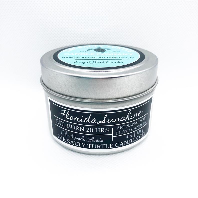 Soy Candle (Custom Tin)