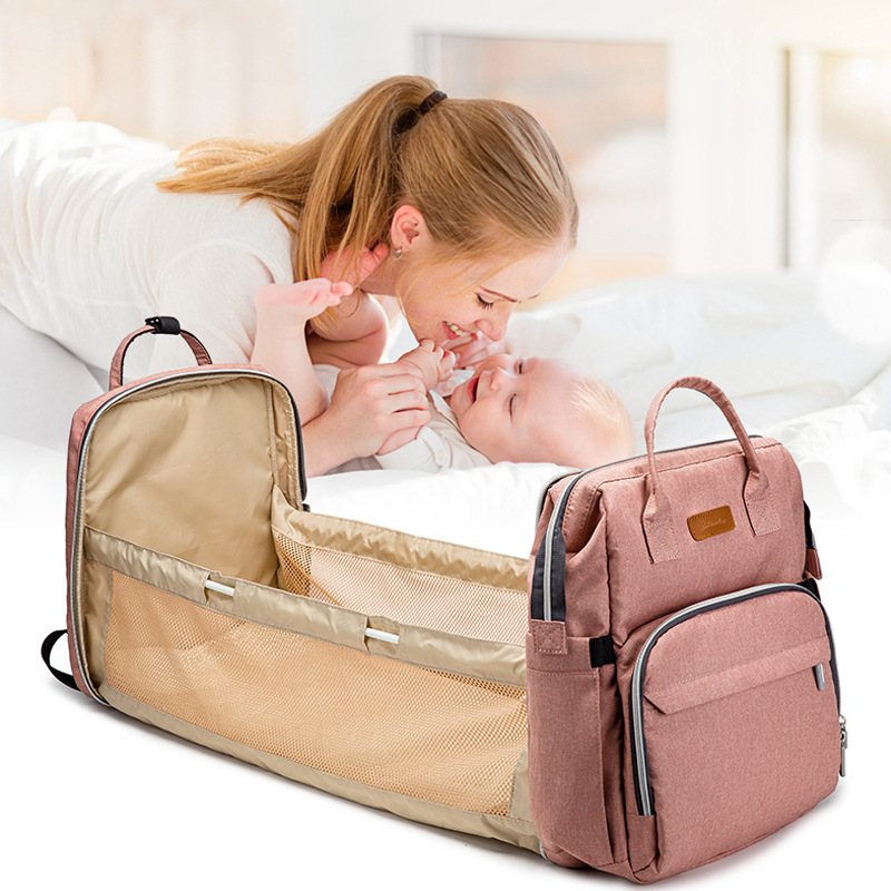 Baby Diaper bag with Bed