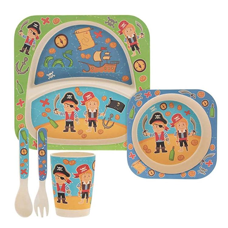 5pc Kids Dinnerware Set