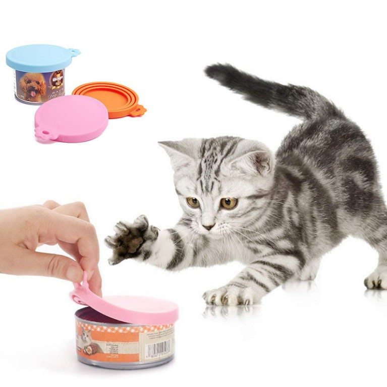 Pet - Silicone Food Can Lid