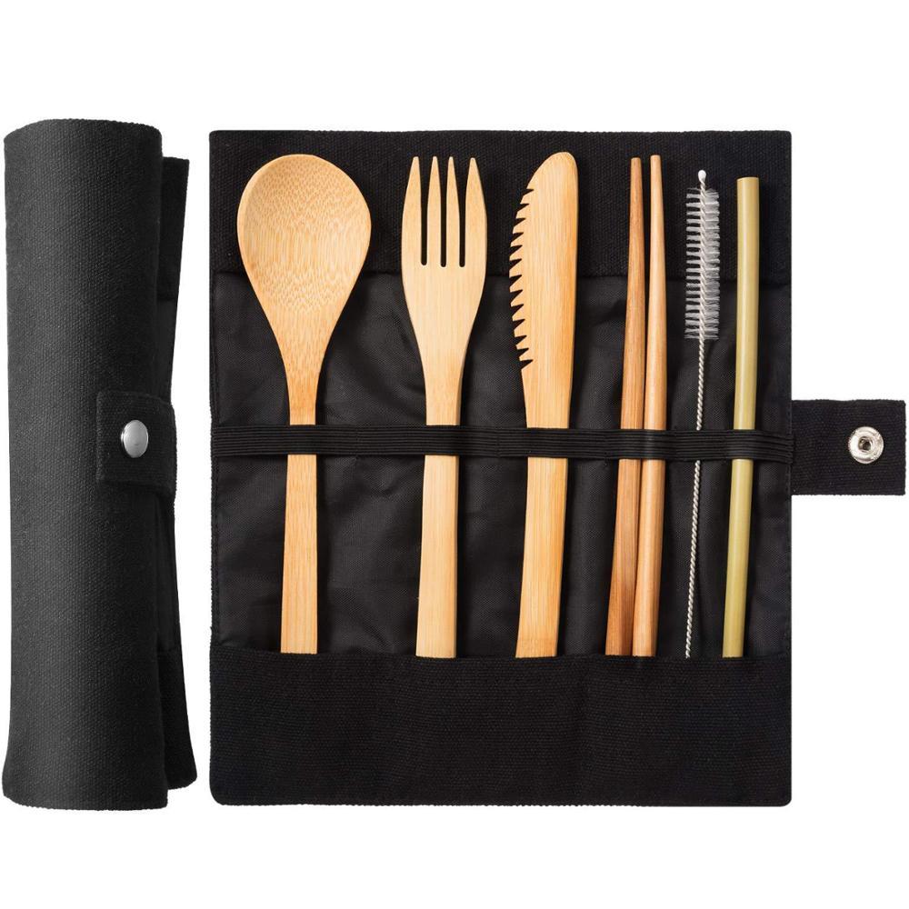 Cutlery Set - Bamboo