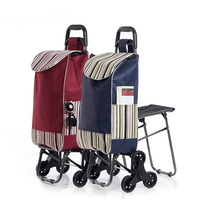 Trolley - Shopping Trolley with Seat