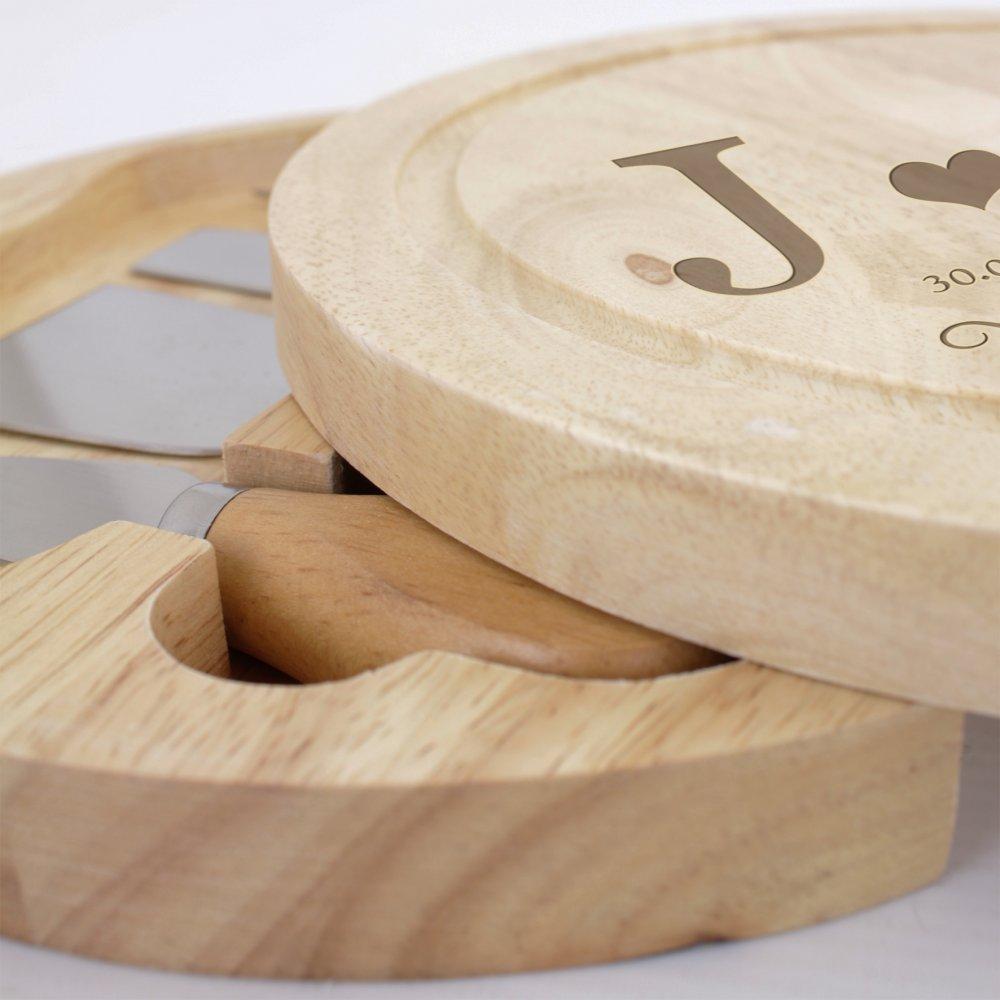 Bamboo - Cheese Board Set