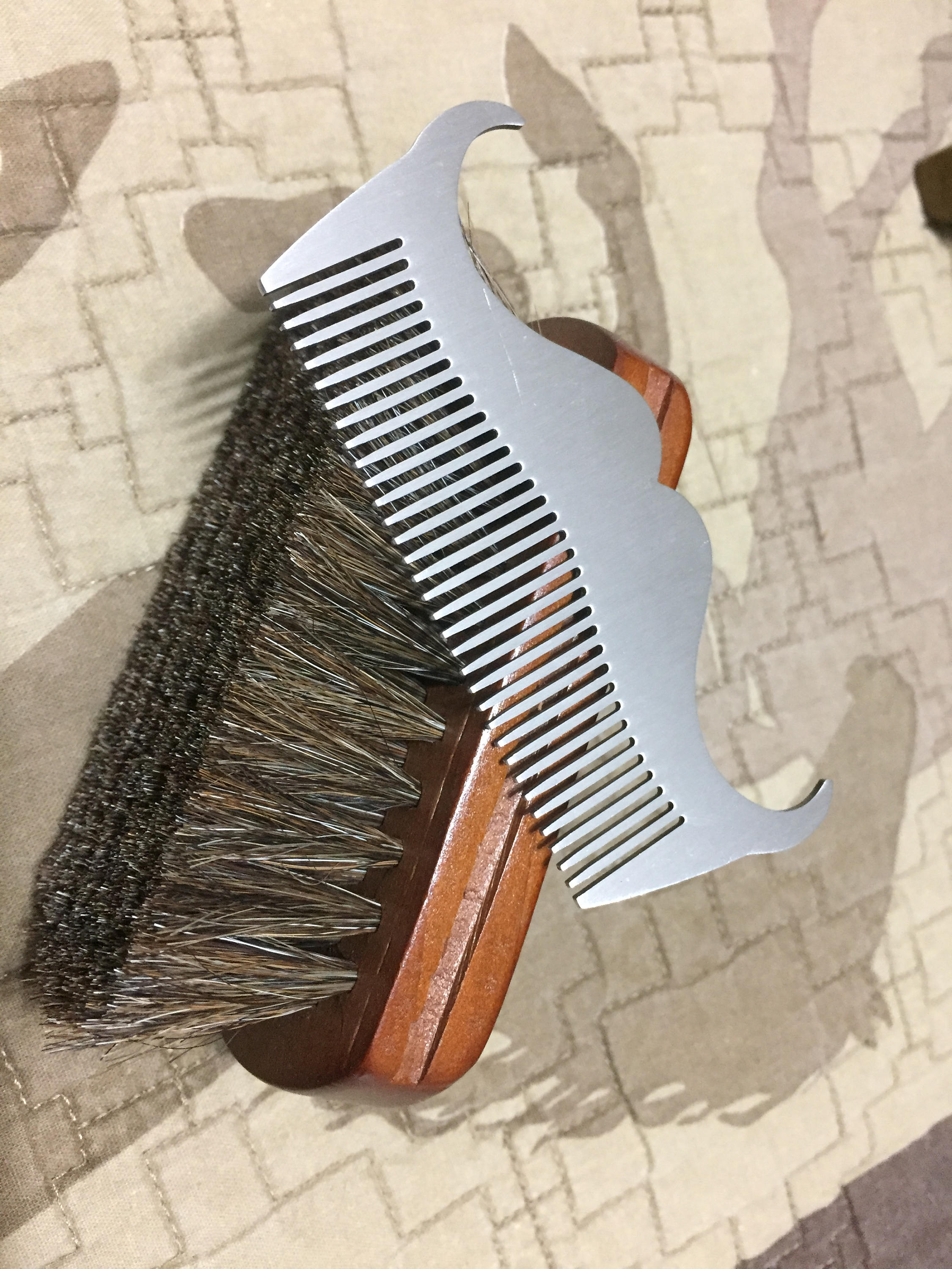 Comb - Stainless Steel Mo Comb