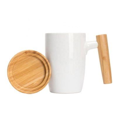 Coffee - Ceramic Cup with Lid