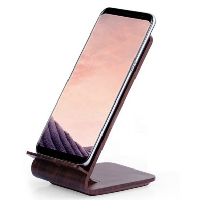 Wooden-Clock-Fast-Charging-Mobile-Phone-Qi