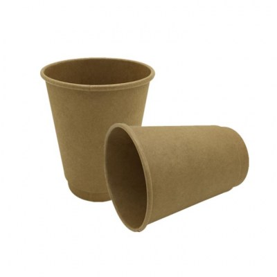 Biodegradable - Double Walled Kraft Paper Cup